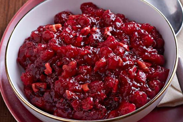 JELL-O Cranberry-Pineapple Relish