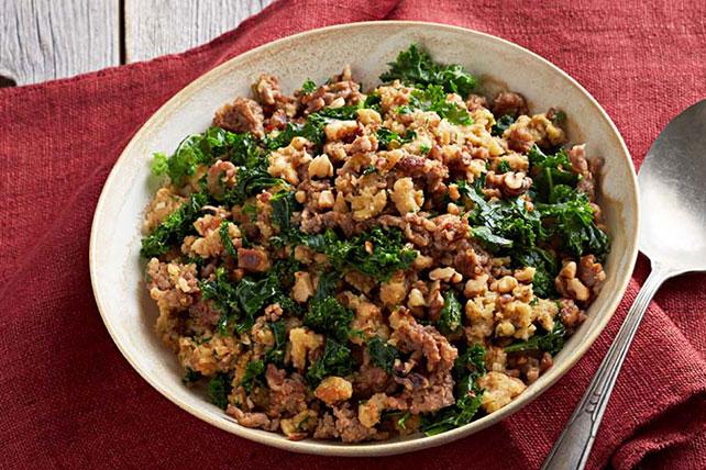 Italian Sausage & Kale Stuffing Image 1