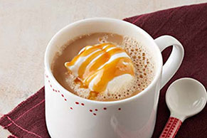 Spiced Pumpkin-Caramel Latte