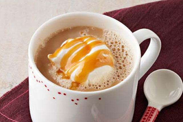 Latte especiado de caramelo y calabaza Image 1