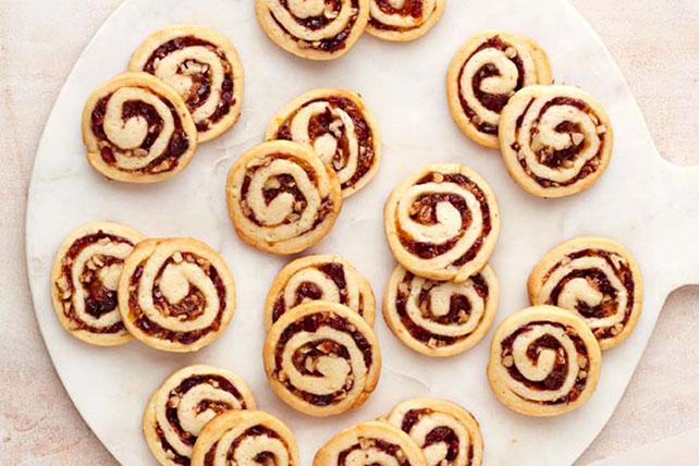 Cranberry-Cream Cheese Pinwheel Cookies Image 1