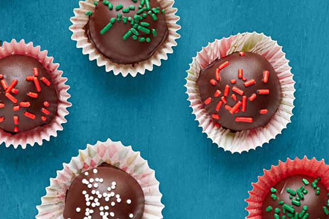 Mentas con crema cubiertas de chocolate Image 1