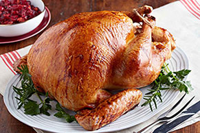 Garlic Herb-Brined Turkey