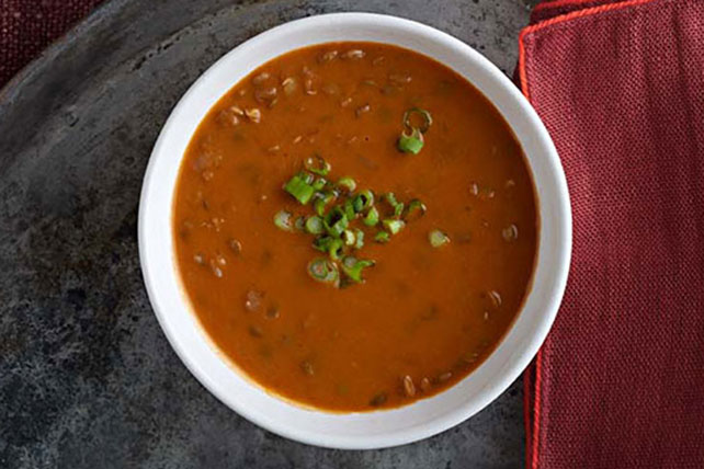 Slow-Cooker Creamy Lentil Soup