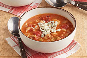 Slow-Cooker Buffalo Chicken Chili