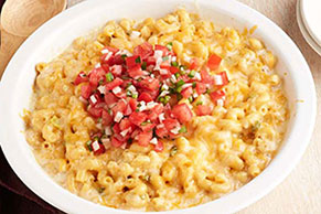 One-Dish Green Chile Mac & Cheese