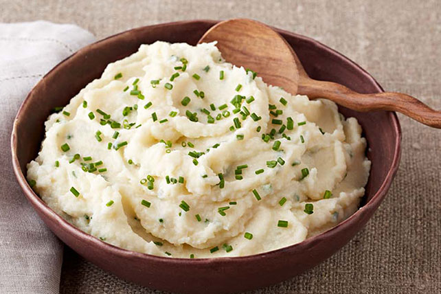 Cheesy Mashed Potatoes andParsnips