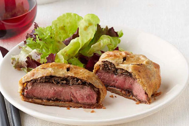 Individual Beef Wellington Recipe Image 1