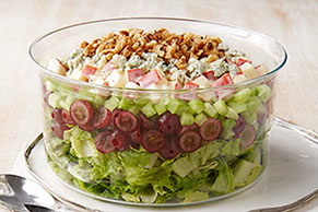 Waldorf Layered Salad