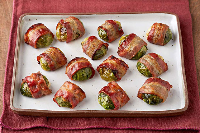 Bacon-Wrapped Brussels Sprouts Image 1