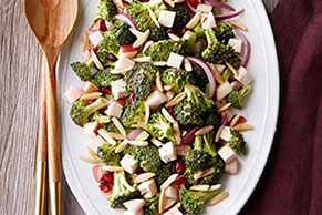 Broccoli-Pomegranate Salad