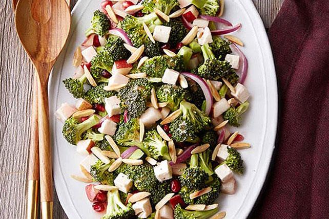 Ensalada de brócoli y granada Image 1