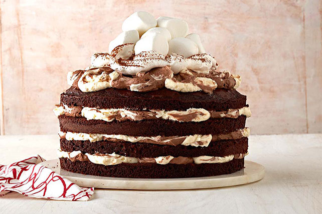 Pastel de chocolate caliente Image 1