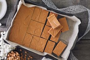 No-Bake Peanut Butter Marshmallow Bars