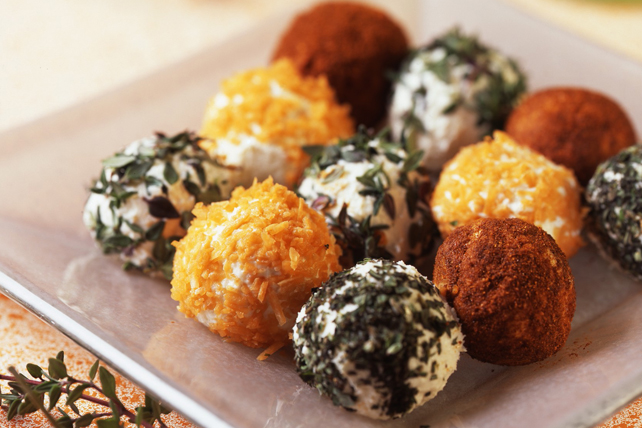 Bite-Size Cheese Balls Image 1