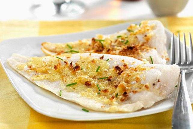 Tilapia with Parmesan and Chives Image 1