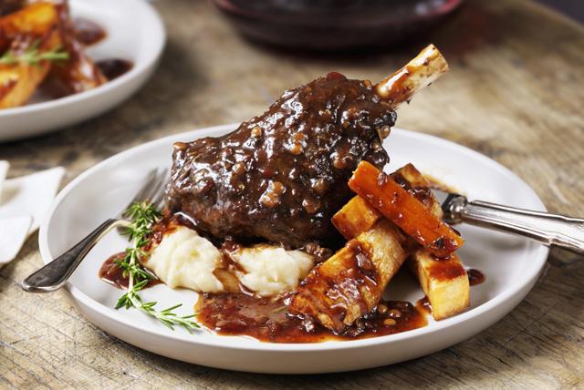 Braised Lamb Shanks Image 1