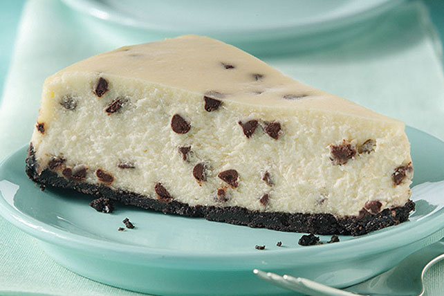 Cheesecake supremo con trocitos de chocolate