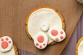 Bunny-Bottom Pudding Cookies