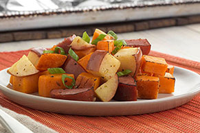 Sausage-Sweet Potato Hash