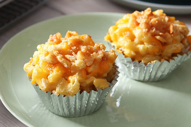 Macaroni au fromage gourmand en coupes Image 1