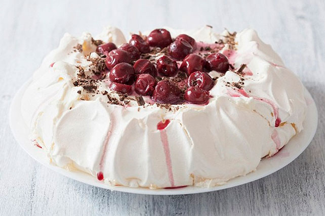 Cherry-Chocolate Pavlova Image 1
