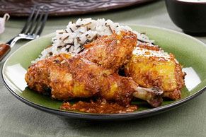Sweet and Spicy Chicken and Rice