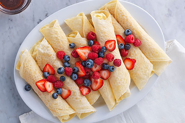 Fresh Berry Brunch Crêpes Image 1