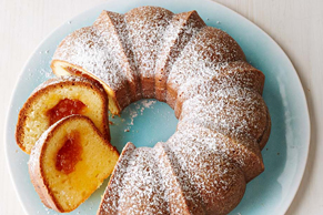 Apricot-Filled Cream Cheese Pound Cake