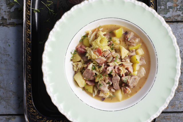 Slow-Cooker Pork and Apple Stew Image 1