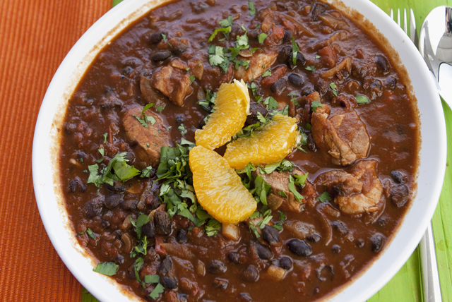 Pork and Black Bean Stew Image 1
