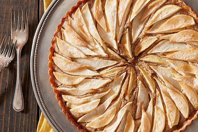 Pear and Hazelnut Frangipane Tart Image 1