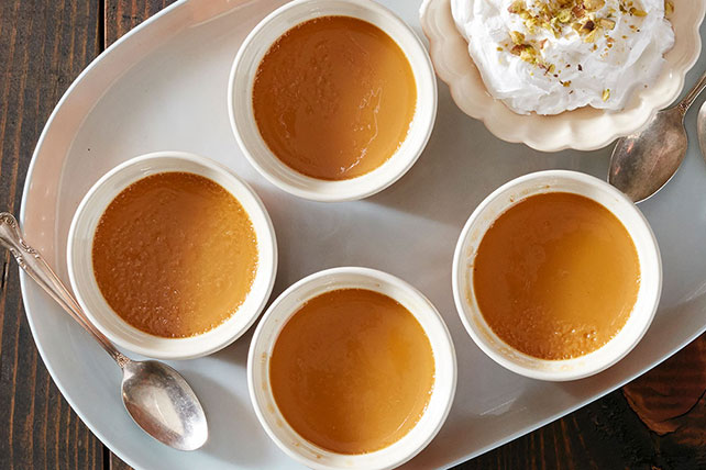 Spiced Orange Caramel Custard Image 1