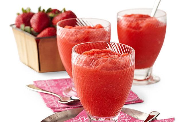 Barbotine à la limonade et aux fraises Image 1