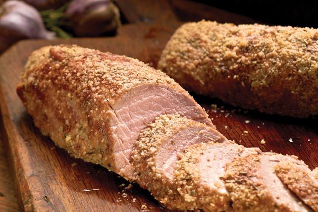 Filet de porc au romarin et à l'ail Image 1