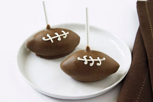 Football Cake Pops Image 1