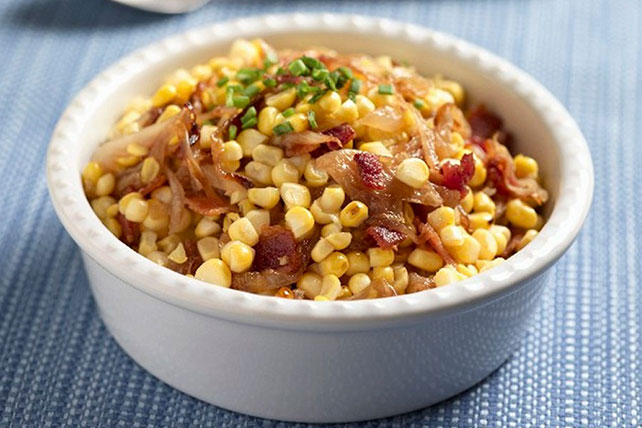 Corn Salad with Bacon