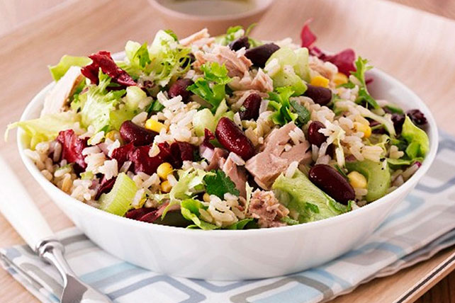 Tuna, Rice and Bean Salad Image 1