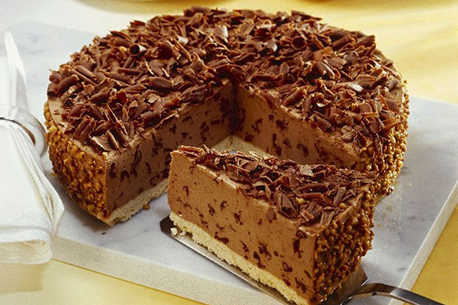 Double Chocolate-Pecan Cheesecake Image 1