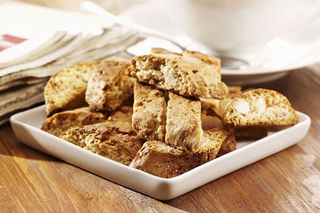 Nutty White Chocolate Biscotti