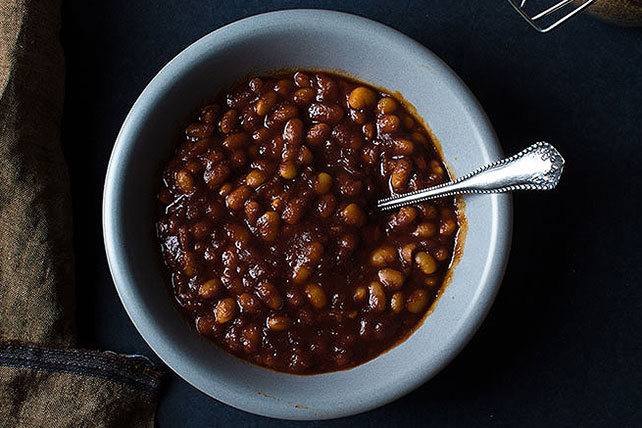 BBQ Maple Baked Beans