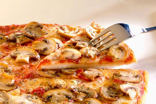 Mushroom Pizza Image 1