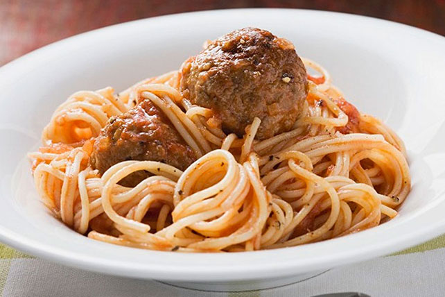 Saucy Spaghetti and Meatballs Image 1