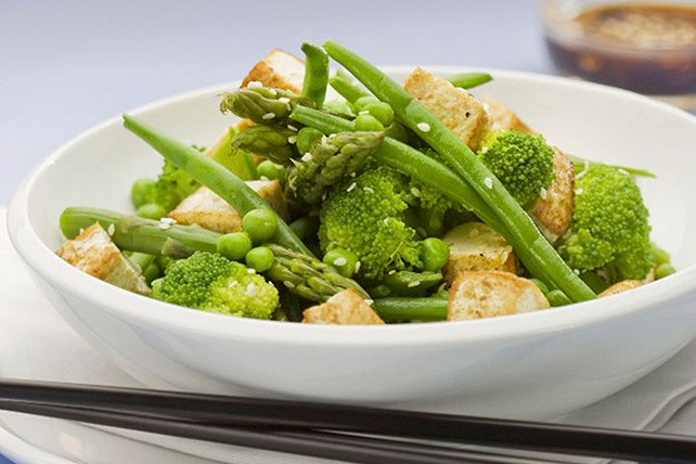 Stir-Fry Vegetables and Tofu Recipe