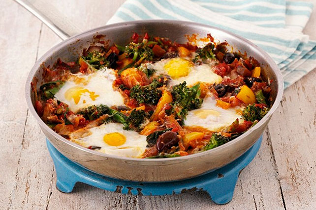 Egg and Veggie Skillet