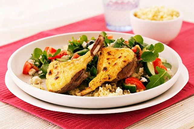 Parmesan-Crusted Lamb Chops Image 1