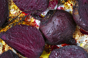 Balsamic Roasted Beets with Thyme
