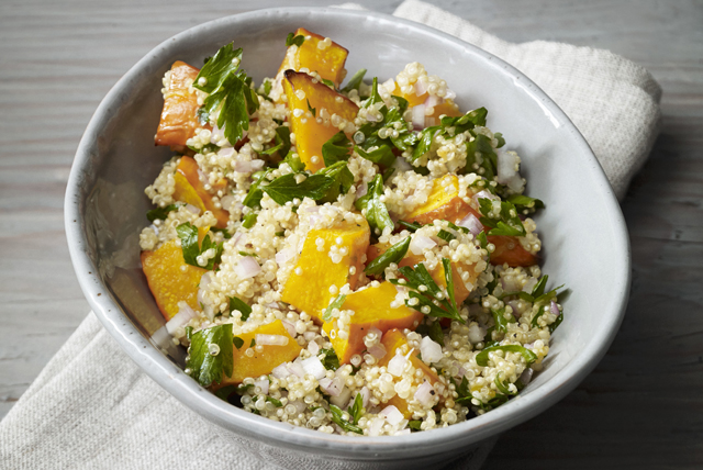 Quinoa chaud à la courge rôtie Image 1