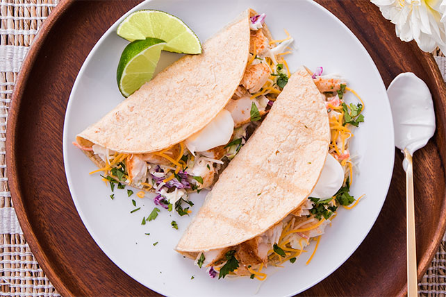 Quick-and-Easy Baja Fish Tacos Image 1