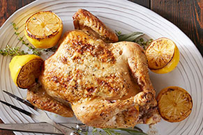 Ring-Roasted Chicken